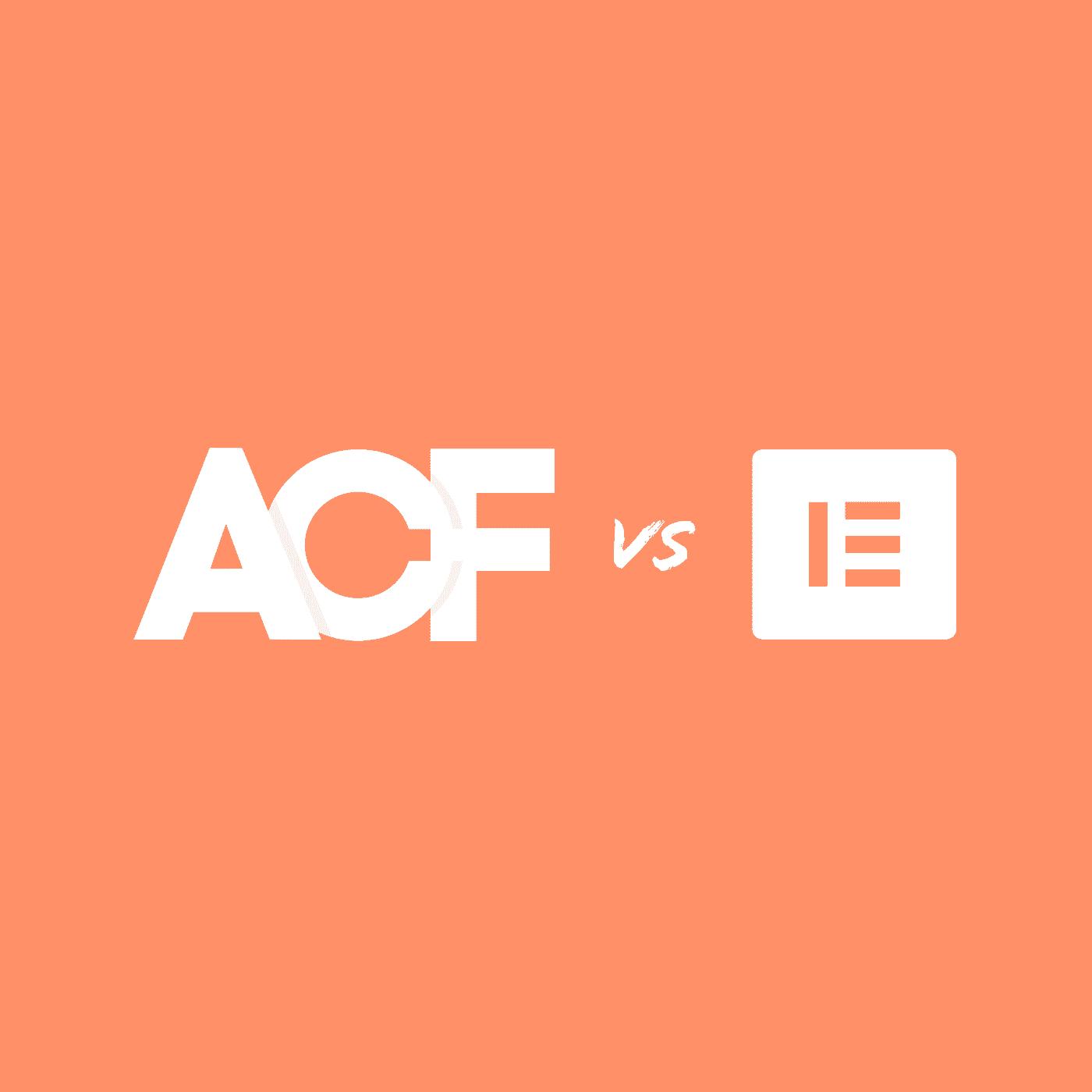 שימוש ב-ACF לעומת פייג׳ בילדרים