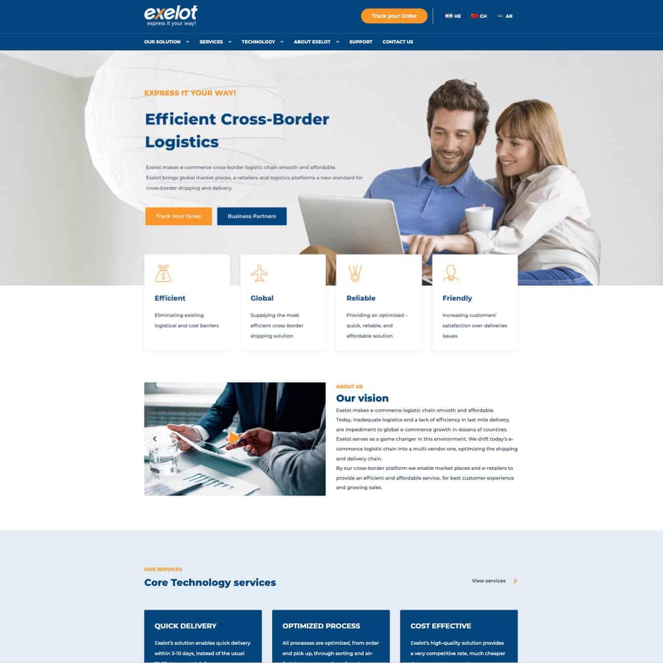 Exelot: Cross-Border Logistics - Smooth Cross-Border Shipping